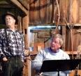 Walt Woodward and Duke York, Bushnell Farm Saybrook